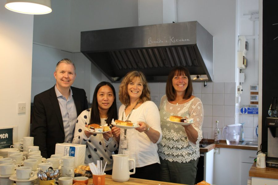 ymca exeter friends cream tea hampton by hilton hotel sponsorship community