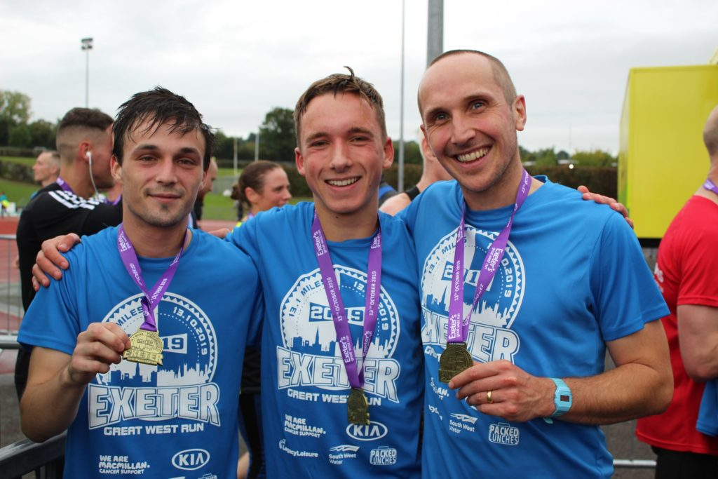 Team YMCA complete the Great West Run in 2019