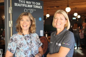 YMCA Exeter volunteer fundraise